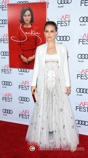 Natalie Portman seen alone and with Greta Gerwig at the AFI Fest Centerpiece Gala screening of Jackie held at the...