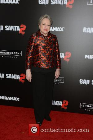Kathy Bates at the New York Premiere of 'Bad Santa 2' held at AMC Loews Lincoln Square, New York, United...