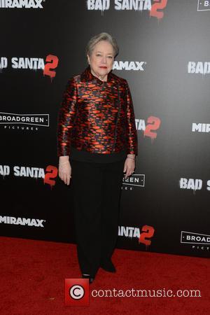 Kathy Bates at the New York Premiere of 'Bad Santa 2' held at AMC Loews Lincoln Square, New York, United...