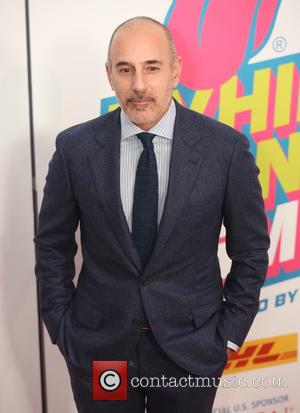 Matt Lauer seen at The Rolling Stones Exhibitionism opening night held at Industria Superstudio, New York City, United States -...