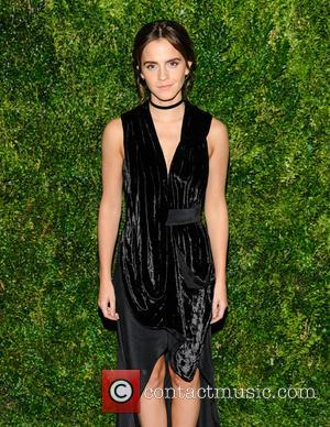 Emma Watson seen at the Museum of Modern Art Film Benefit Honoring Tom Hanks held at MoMA in New York...