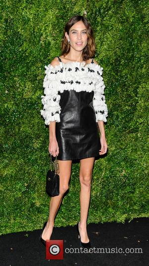 Alexa Chung seen at the Museum of Modern Art Film Benefit Honoring Tom Hanks held at MoMA in New York...
