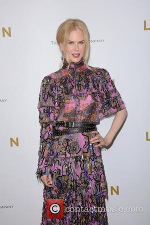 Nicole Kidman seen alone and with Keith Urban at the New York Premiere of 'Lion' held at the Museum of...