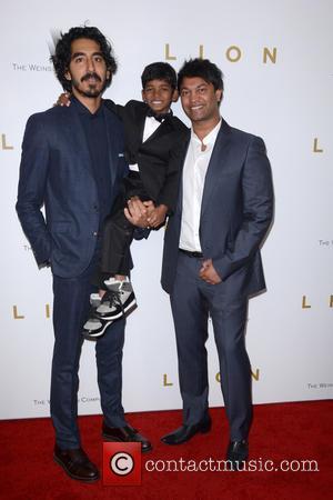 Dev Patel, Sunny Pawar and Saroo Brierley