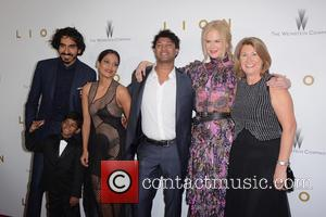 Dev Patel, Sunny Pawar, Saroo Brierley, Nicole Kidman and Sue Brierley