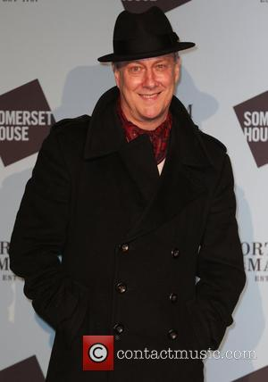 Stephen Tompkinson and various other guests attend the opening party of Skate at Somerset House hosted by Fortnum & Mason,...