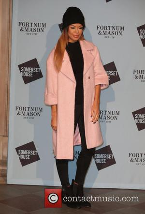 Sarah-Jane Crawford and various other guests attend the opening party of Skate at Somerset House hosted by Fortnum & Mason,...