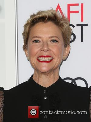 Annette Bening seen alone and with Warren Beatty at a Screening Of A24's '20th Century Women', the event was also...