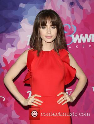 Lily Collins Won Film Role After Warren Beatty Spotted Her On A Talk Show