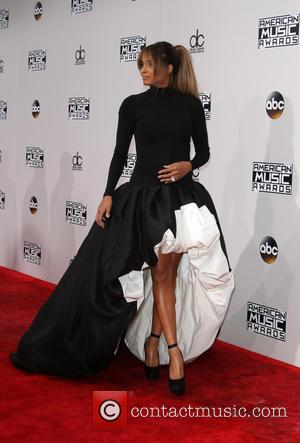 Ciara arrives at the 2016 American Music Awards held at the Microsoft Theatre, Los Angeles, California, United States - Sunday...