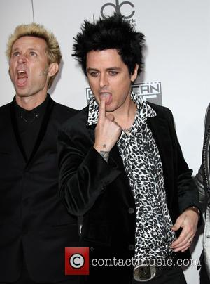 Mike Dirnt and Billie Joe Armstrong
