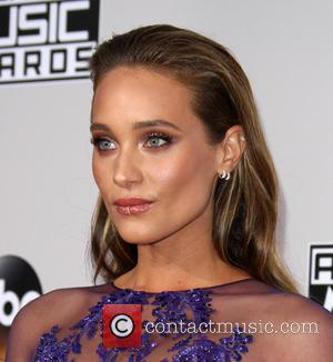 Hannah Davis arrives at the 2016 American Music Awards held at the Microsoft Theatre, Los Angeles, California, United States -...