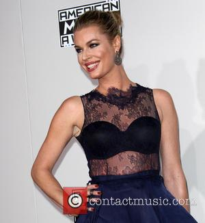 Rebecca Romijn arrives at the 2016 American Music Awards held at the Microsoft Theatre, Los Angeles, California, United States -...
