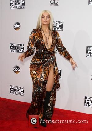 Bebe Rexha arrives at the 2016 American Music Awards held at the Microsoft Theatre, Los Angeles, California, United States -...