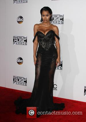 Teyana Taylor arrives at the 2016 American Music Awards held at the Microsoft Theatre, Los Angeles, California, United States -...