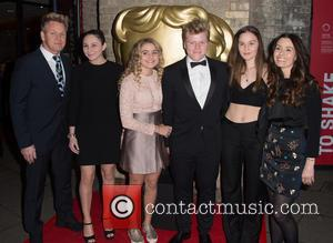 Gordon Ramsay, Megan Ramsay, Matilda Ramsay, Jack Ramsay, Holly Ramsay and Tana Ramsay seen on the Red Carpet for the...
