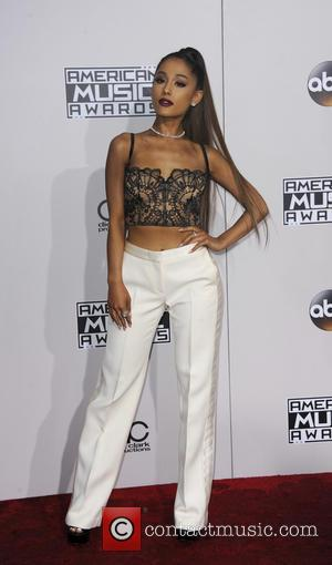Ariana Grande arrives at the 2016 American Music Awards held at the Microsoft Theatre, Los Angeles, California, United States -...