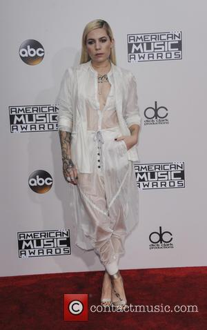Skylar Grey arrives at the 2016 American Music Awards held at the Microsoft Theatre, Los Angeles, California, United States -...