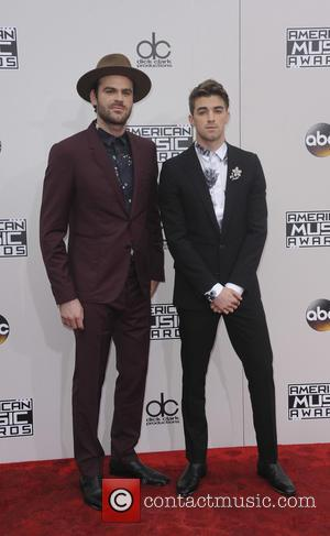 Alex Pall and Andrew Taggart of The Chainsmokers arrive at the 2016 American Music Awards held at the Microsoft Theatre,...