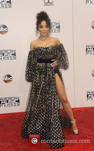 Tinashe arrives at the 2016 American Music Awards held at the Microsoft Theatre, Los Angeles, California, United States - Sunday...