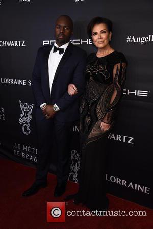 Corey Gamble and Kris Jenner