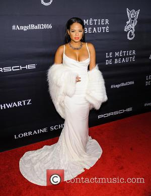 Christina Milian seen at the 2016 Gabrielle's Angel Ball held at Cipriani Wall St., New York, United States - Tuesday...