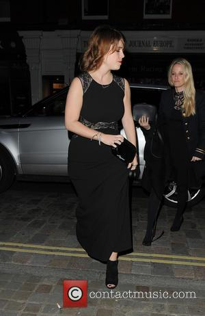 Ellie Goulding and Princess Eugenie arriving at Chiltern Firehouse after leaving The Animal Ball 2016 held at Victoria House Basement....