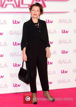 Lesley Manville at The ITV Gala held at the London Palladium,  London, United Kingdom - Thursday 24th November 2016