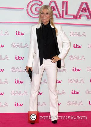Gaby Roslin at The ITV Gala held at the London Palladium,  London, United Kingdom - Thursday 24th November 2016