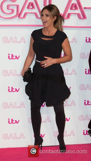 Katie Price seen alone and with Kieran Hayler at The ITV Gala held at the London Palladium,  London, United...