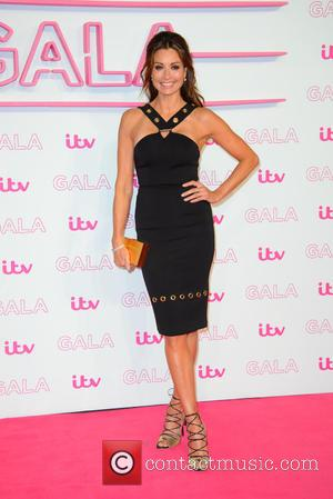 Melanie Sykes seen arriving at the 2016 ITV Gala held at the London Palladium Theatre - London, United Kingdom -...