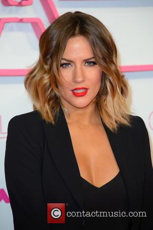 Caroline Flack seen arriving at the 2016 ITV Gala held at the London Palladium Theatre - London, United Kingdom -...