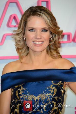 Charlotte Hawkins seen arriving at the 2016 ITV Gala held at the London Palladium Theatre - London, United Kingdom -...