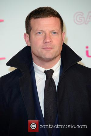 Dermot O'Leary seen arriving at the 2016 ITV Gala held at the London Palladium Theatre - London, United Kingdom -...