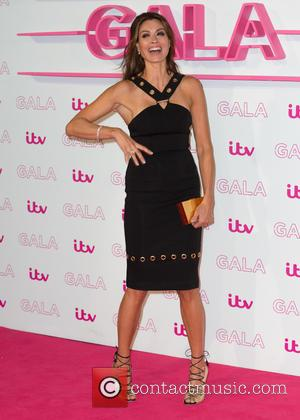 Melanie Sykes at The ITV Gala held at the London Palladium,  London, United Kingdom - Thursday 24th November 2016