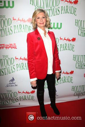 Olivia Newton-John attending the 85th Annual Hollywood Christmas Parade at Hollywood Blvd - Hollywood, California, United States - Sunday 27th...
