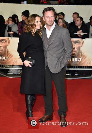 Geri Horner and Christian Horner