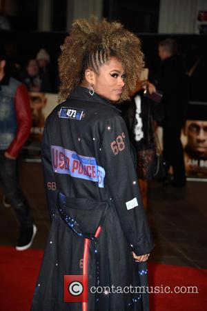 Fleur East attends the World Premiere of I Am Bolt held at the Odeon Leicester Square, London, United Kingdom -...