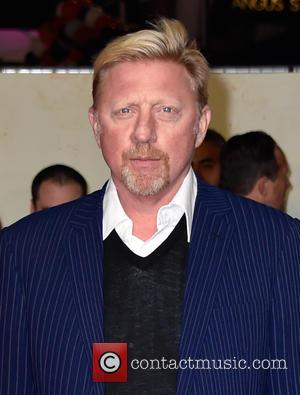 Boris Becker at Leicester Square and Odeon Leicester Square