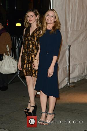 Maude Apatow and Leslie Mann