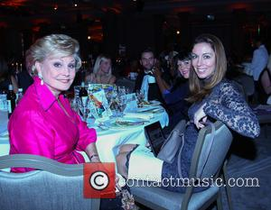 Angela Ripon, Pamela Sinclair and Emma Crosby at the Variety Catherine Awards in association with the Evening Standard held at...
