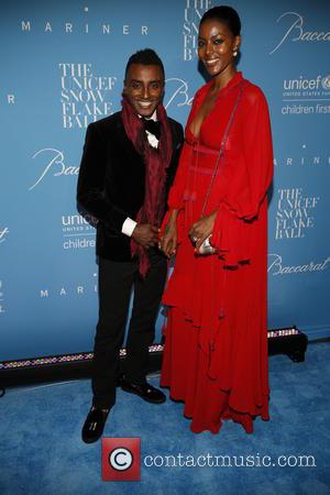 Marcus and Maya Samuelsson seen arriving at the 12th Annual UNICEF Snowflake Ball held at Cipriani 55 Wall street, New...