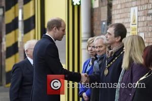 Prince William , Duke of Cambridge - Prince William, Duke of Cambridge royal visit to train builder Bombardier in Derby,...