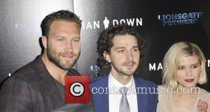 Jai Courtney, Shia Labeouf and Kate Mara