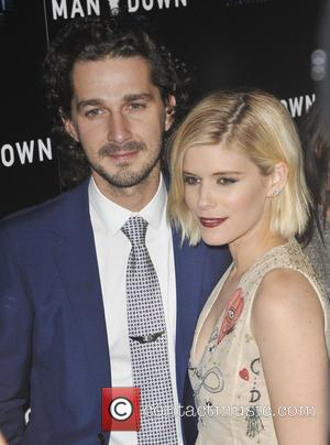 Shia Labeouf and Kate Mara