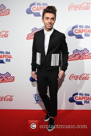 Nathan Sykes arrives at The 2016 Jingle Bell Ball held at the O2, London, United Kingdom - Saturday 3rd December...