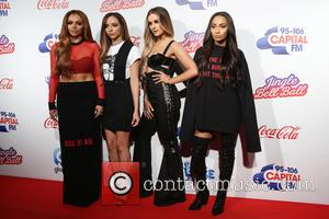 Little Mix arrive at The 2016 Jingle Bell Ball held at the O2, London, United Kingdom - Saturday 3rd December...