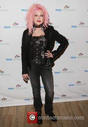 Cyndi Lauper Thrilled To Be Touring With Rod Stewart