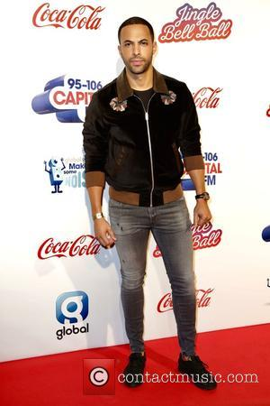 Marvin Humes seen on the Red Carpet for Capital's 2016 Jingle Bell Ball sponsored by Coca-Cola and held at London's...