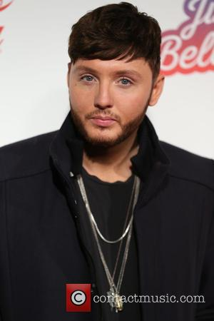 James Arthur seen on the Red Carpet for Capital's 2016 Jingle Bell Ball sponsored by Coca-Cola and held at London's...